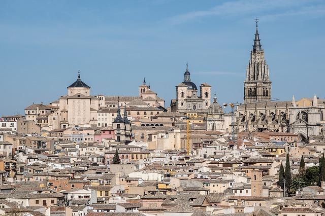 španělské město