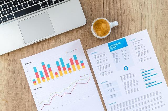 finanční data