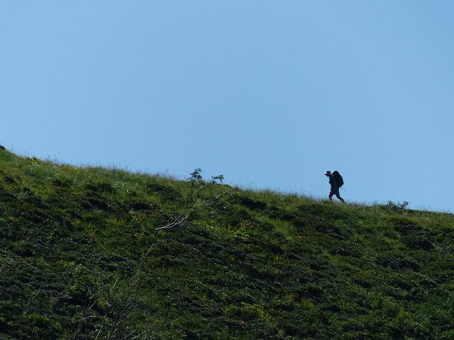turista na kopci