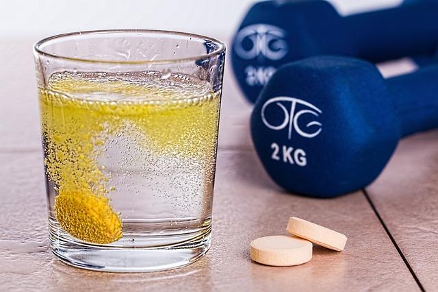 šumivé tablety