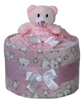 plenkový dort medvídek